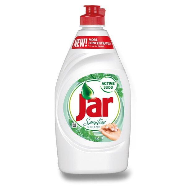 Prostředek na mytí nádobí Jar Sensitive Tea Tree&Mint