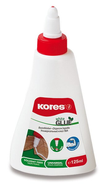 Tekuté lepidlo Kores White glue 125 ml
