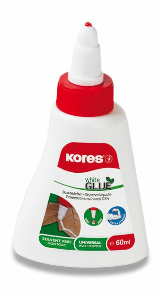 Tekuté lepidlo Kores White glue 250 ml