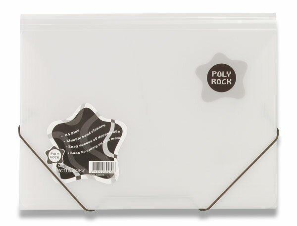 3chlopňové desky Poly Rock bílé