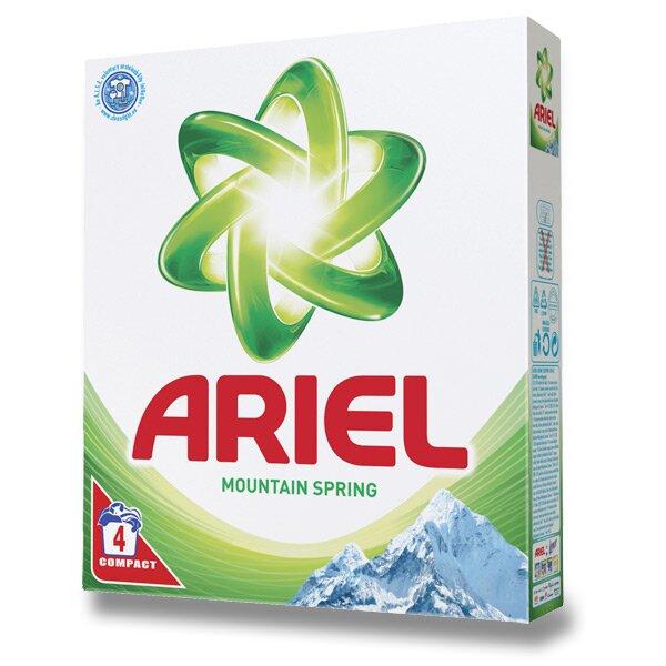 Prací prášek Ariel Mountain Spring 4 dávky