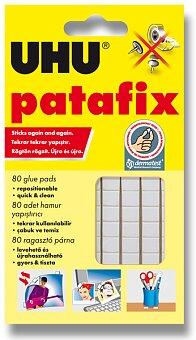 Obrázek produktu Samolepicí montážní guma UHU Tac Patafix - bílá, 80 ks