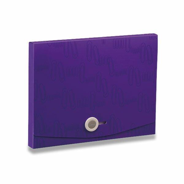 Box na dokumenty I Clip - A4 fialový