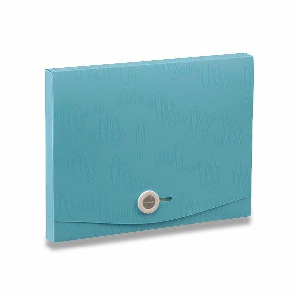 Box na dokumenty I Clip - A4 modrý