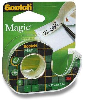 Obrázek produktu Samolepicí páska 3M Scotch Magic Invisible - 19 mm x 7,5 m, s odvíječem