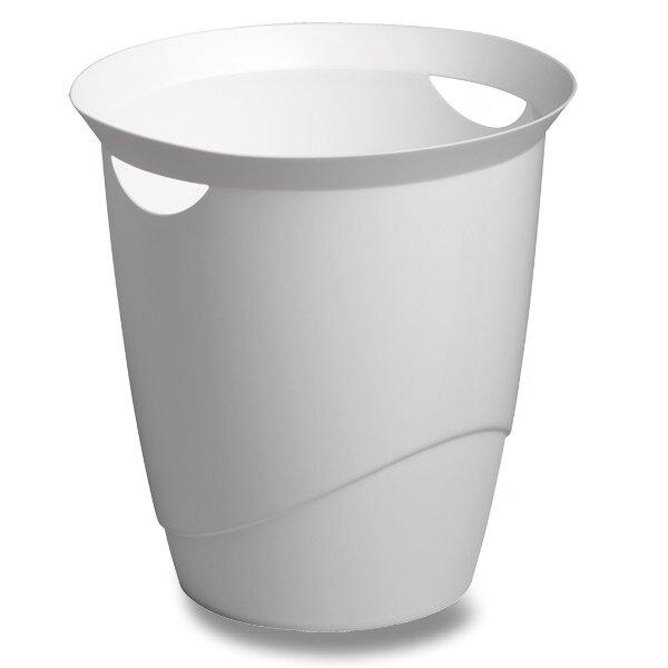 Odpadkový koš Durable Trend bílý