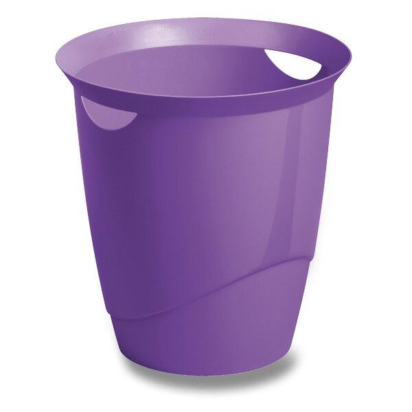Odpadkový koš Durable Trend fialový