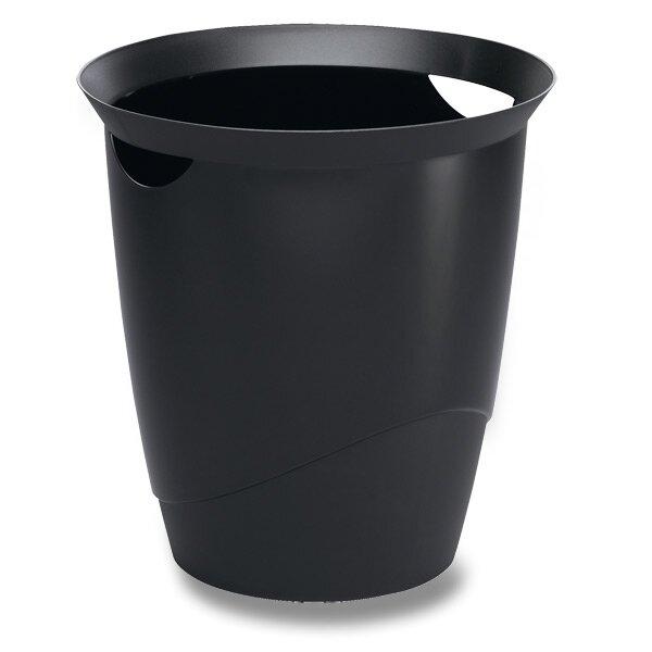 Odpadkový koš Durable Trend černý
