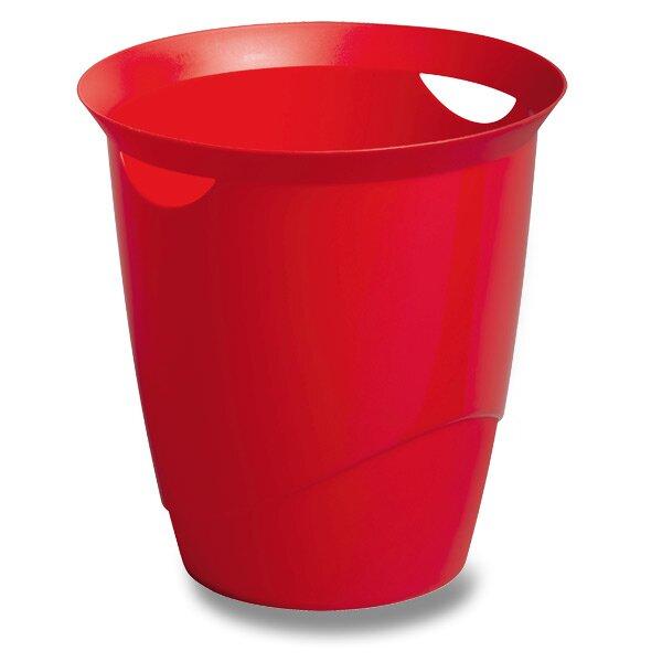 Odpadkový koš Durable Trend červený
