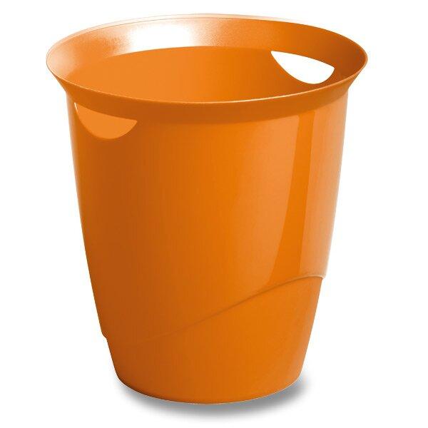 Odpadkový koš Durable Trend oranžový