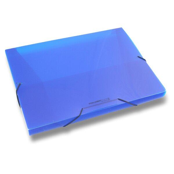 Box na dokumenty FolderMate Pop Gear modrý