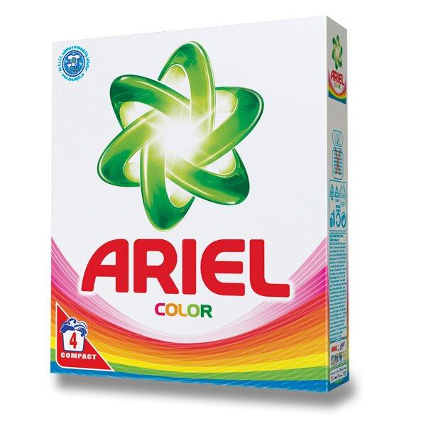 Prací prostředek Ariel Color 4 dávky