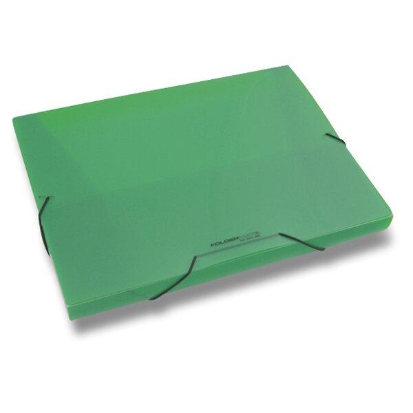 Box na dokumenty FolderMate Pop Gear zelený