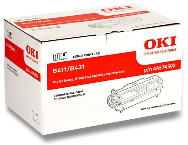 Toner OKI B411 / B431 pro laserové tiskárny black (černý)