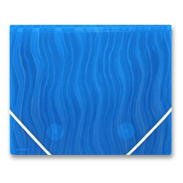 3chlopňové desky FolderMate Vertical modré