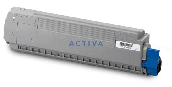 Toner OKI MC860 pro laserové tiskárny cyan (modrý)