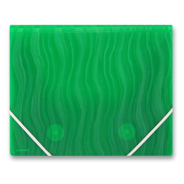 3chlopňové desky FolderMate Vertical zelené