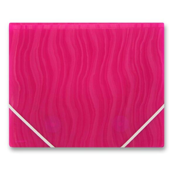 3chlopňové desky FolderMate Vertical červené