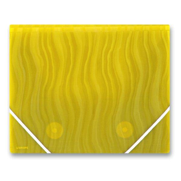 3chlopňové desky FolderMate Vertical žluté