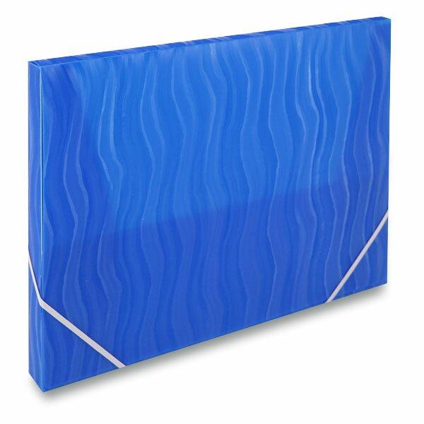 Box na dokumenty FolderMate Vertical modrý