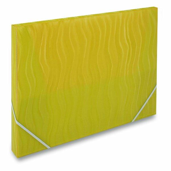 Box na dokumenty FolderMate Vertical žlutý
