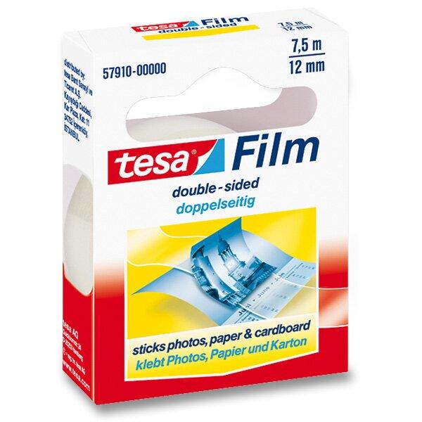 Oboustranná lepící páska Tesa Film Double Sides šíře 12 mm, návin 7,5 m