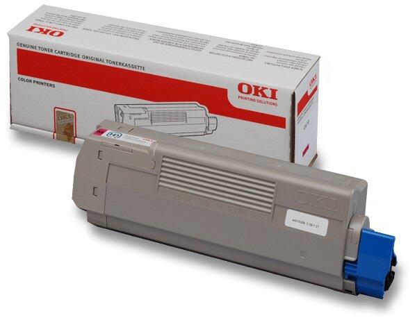Toner OKI C610 pro laserové tiskárny magenta (červený)