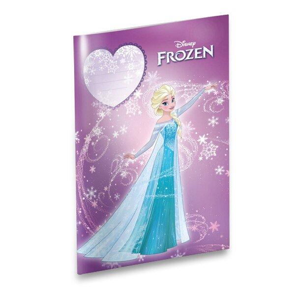 Školní sešit Frozen A4, čistý, 40 listů