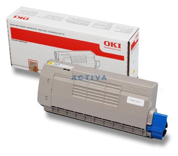 Toner OKI C710 pro laserové tiskárny yellow (žlutý)