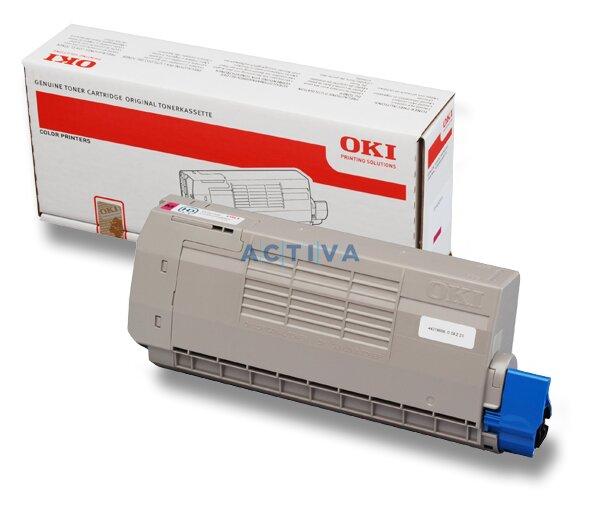 Toner OKI C710 pro laserové tiskárny magenta (červený)