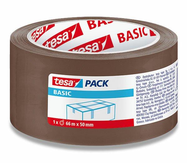 Balicí páska Tesa Basic hnědá