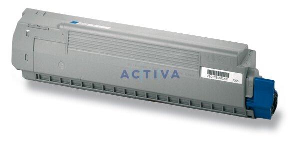 Toner OKI C810 pro laserové tiskárny cyan (modrý)
