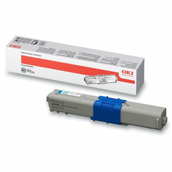 Toner OKI C310 pro laserové tiskárny cyan (modrý)
