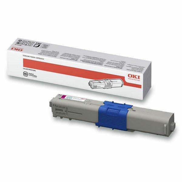 Toner OKI C310 pro laserové tiskárny magenta (červený)