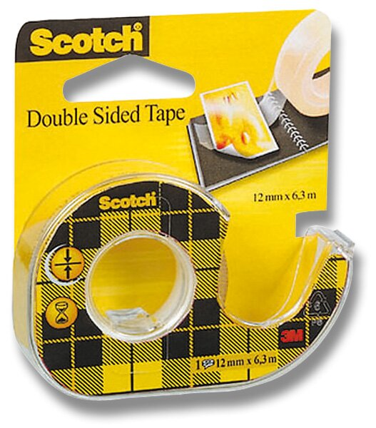 Oboustranná lepicí páska 3M Scotch Double 12 mm x 6,3 m
