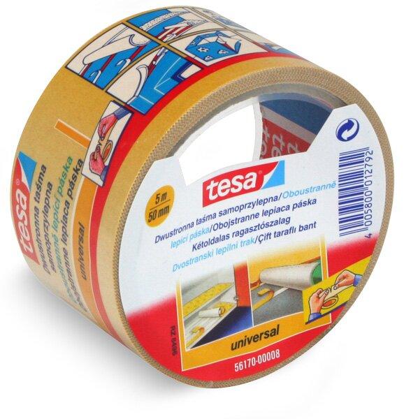 Oboustranná kobercová lepící páska Tesa Double Face 5 m