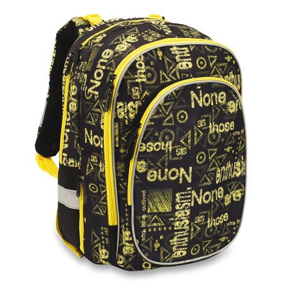 Školní batoh Karton P+P Ergo Junior Typo