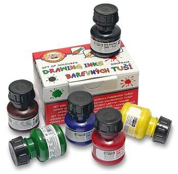 Obrázek produktu Tuš Koh-i-noor 141730 - sada barev, 6 x 20 g