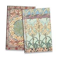 Blok Art Nouveau Mucha - mix motivů