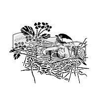Plastová šablona AladinE - Ptačí hnízdo
