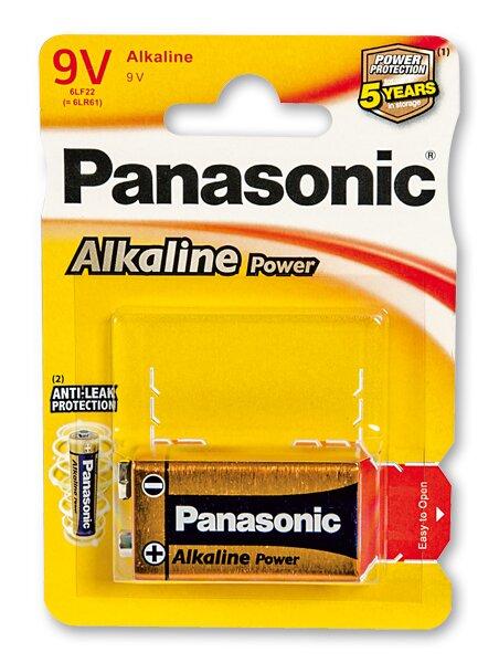 Baterie Panasonic Alkaline Power 9 V