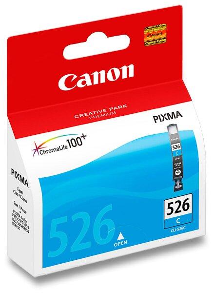 Cartridge Canon CLI-526 pro inkoustové tiskárny cyan (modrá)
