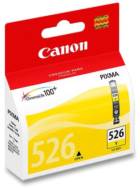 Cartridge Canon CLI-526 pro inkoustové tiskárny yellow (žluá)