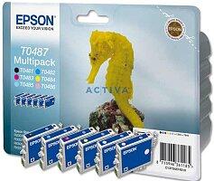 Cartridge Epson T04874010 multipack pro inkoustové tiskárny