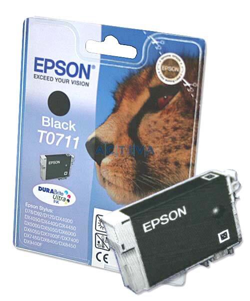 Cartridge Epson T071140 pro inkoustové tiskárny black (černý)