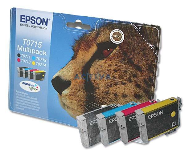 Cartridge Epson T071540 multipack pro inkoustové tiskárny