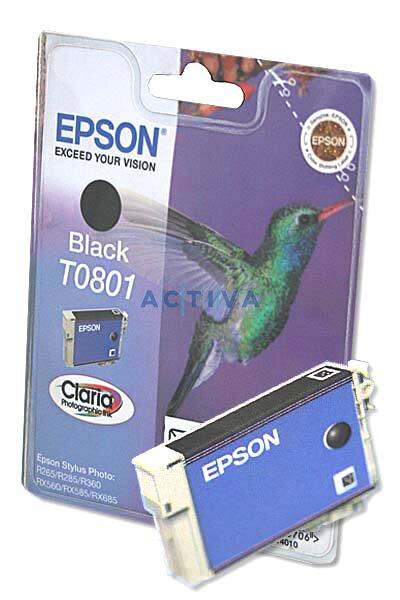 Cartridge Epson T080140 pro inkoustové tiskárny black (černý)