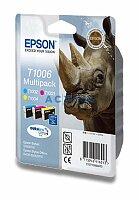 Cartridge Epson T10064010 multipack CMY pro inkoustové tiskárny