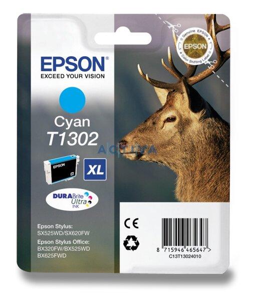Cartridge Epson T130240 pro inkoustové tiskárny cyan (modrý)