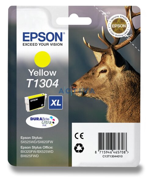 Cartridge Epson T130440 pro inkoustové tiskárny yellow (žlutý)